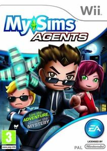 MySims-Agents-Nintendo-Wii-Game