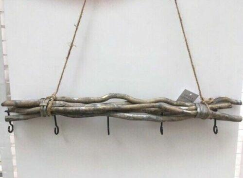 Gisela Graham suspendu Twig Bundle-Gris