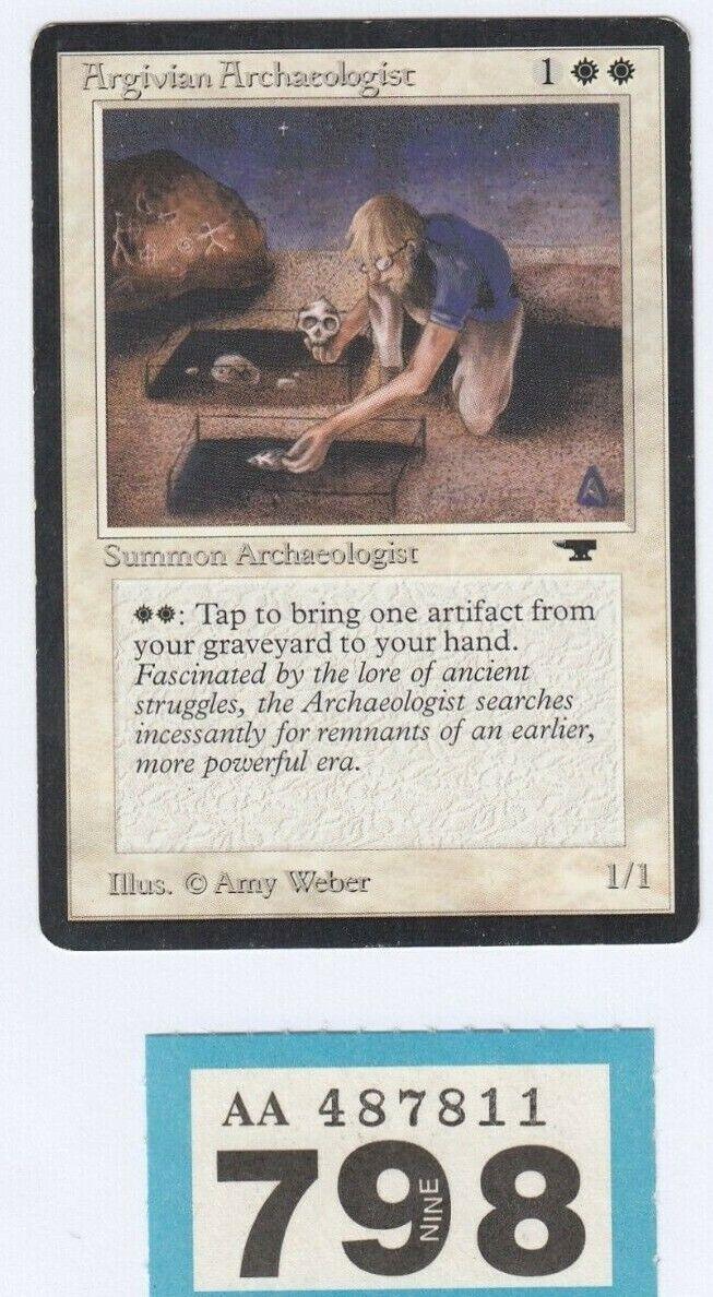 MTG Magic the Gathering - Argivian Archaeologist - Antiquities