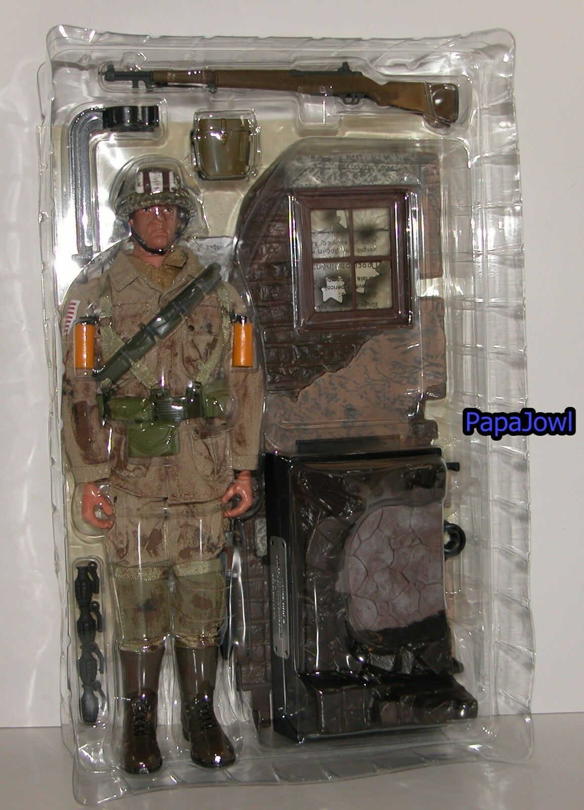 GI Joe World War II US Army Staff Sergeant 1999 Millennium Collection 12""