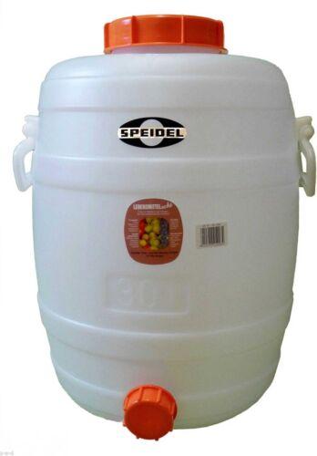 SPEIDEL Gärfass 30L   MOSTFASS Gärbottich für Bier Wein und Most Fassgärung
