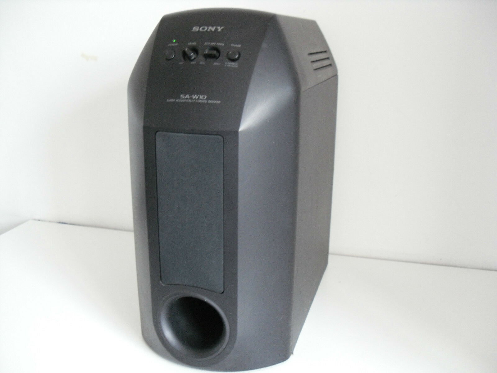 SONY SA-W10 SUPER ACOUSTICALLY LOADED WOOFER
