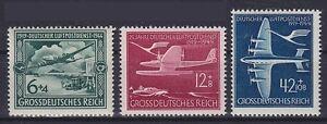 DR Mi Nr. 866 - 868 **, 25 Jahre Luftpost Deutsches Reich 1944, postfrisch, MNH