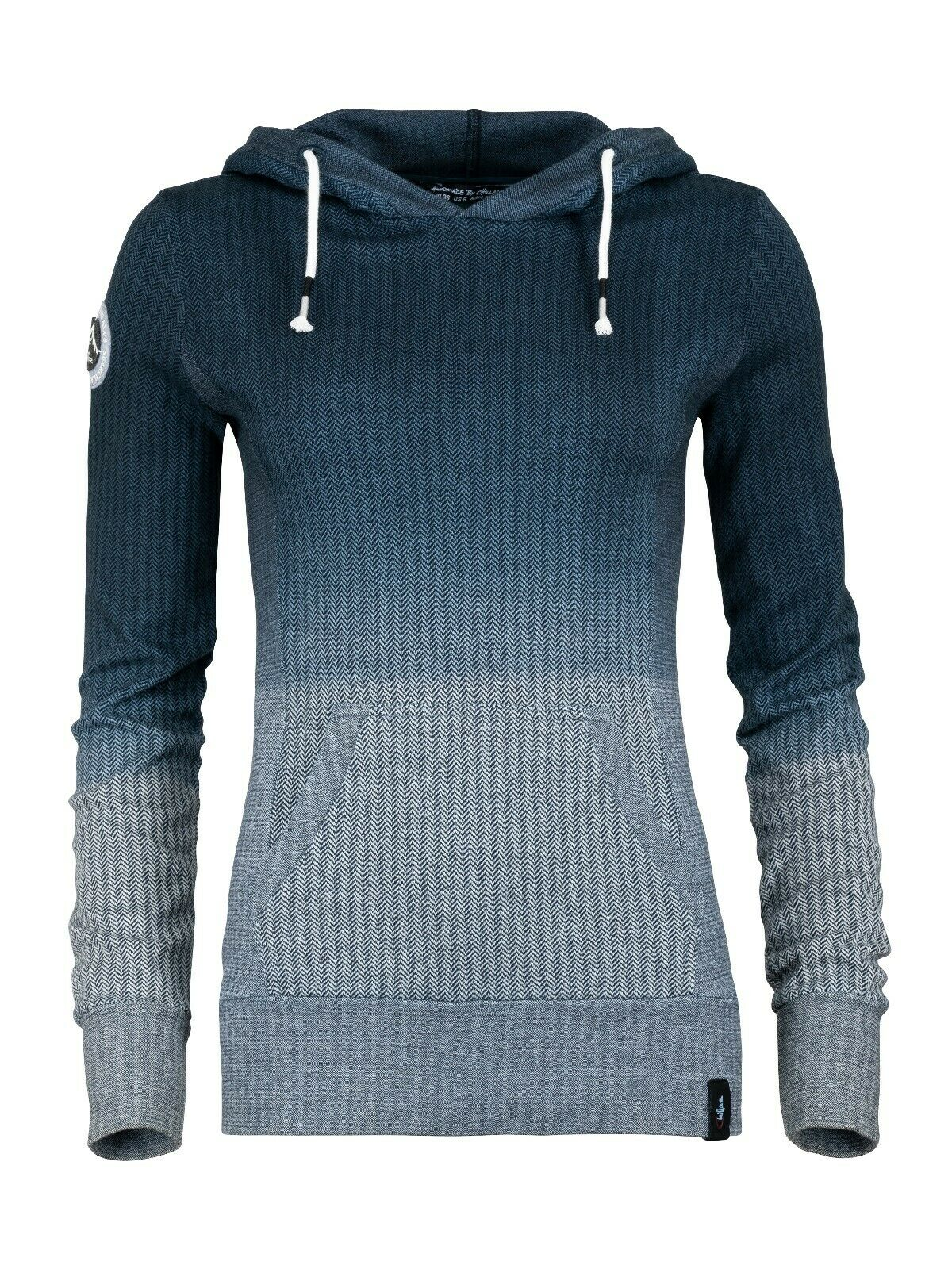 llaz GIA Hoodie Women's Hoody Sweater for Ladies Grey  - Anthracite  credit guarantee
