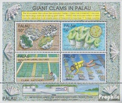 Palau-islands Block11 Never Hinged 1991 Riese Easy To Repair Unmounted Mint complete.issue.