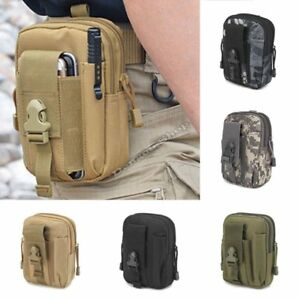 61ddb97fb4b7 Details about Tactical Waist Pack Belt Bag Camping Outdoor Hiking Military  Molle Pouch Wallet