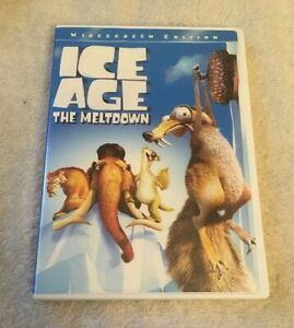 Ice Age The Meltdown Widescreen Dvd Ebay