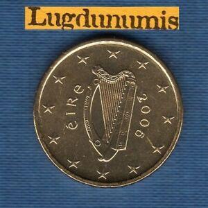 Irlande 2006 50 Centimes D'Euro SUP SPL Pièce neuve de rouleau - Eire