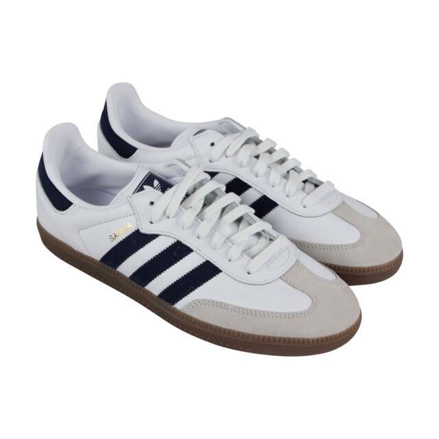 bb2894fa1 RARE adidas Originals Samba OG Sneaker B75681 White/navy Sz 9 (eu 42 ...