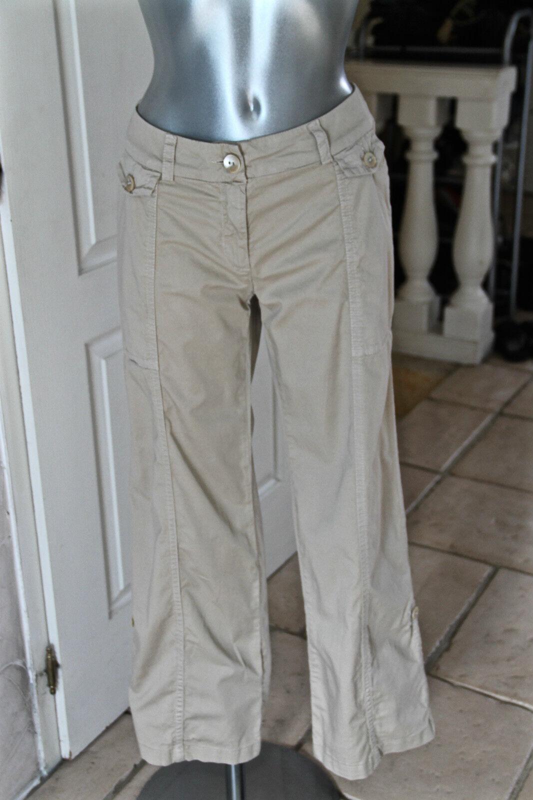 Joli pantalon modulable safari trek WEEK END MAX MARA size 40  SUPER ÉTAT