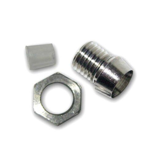 10PCS 3mm Clip Chrome Metal Bezel LED Holders Mounts L