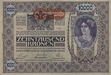 Österreich / Austria 10.000 Kronen 1918 Pick 66 (1) 2. Auflage