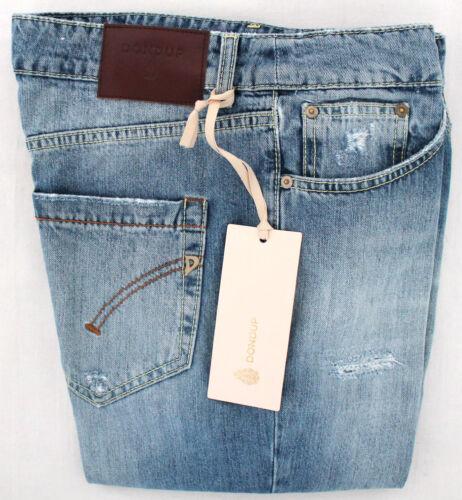 Fit Loose Denim Jeans Femme Bleu Déchiré 100 Combattant Modèle Coton Dondup wpSSfxnqEt