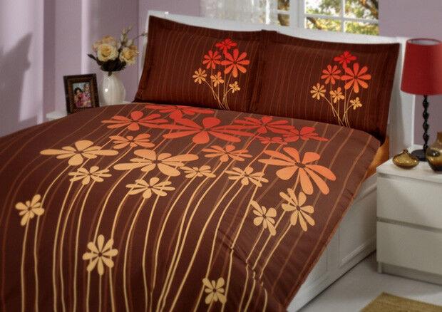 4tlg Bettwäsche Bett Bezug Set Ranforce Bettgarnitur
