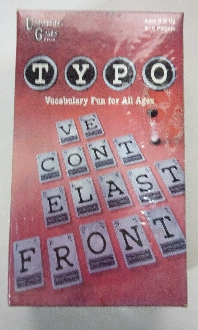 TYPO-University Games-Small game box edition--great vocabulary game Games-Small e46f37