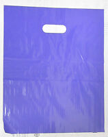 100 12 X 15 Purple Glossy Low-density Plastic Merchandise Bags