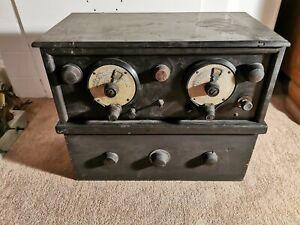 Rare Vintage Radio Valve Wireless Broadcast 1920-1930's