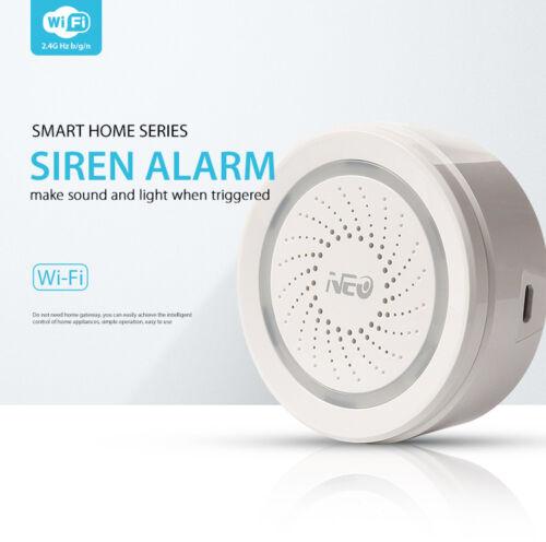 Smart Home WiFi Water Detector PIR Motion Door Sensor Siren Alarm APP Remote PR1