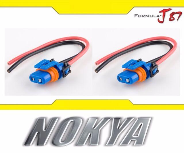 Nokya Arnés de Cables Coleta Hembra 9006XS HB4A Nok9102 Cabeza Bombilla Conector