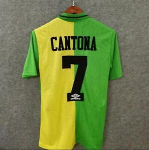 CANTONA-7-Football-Shirt-1992-94-MAN-UTD-Retro-Jersey-Manchester-Soccer-shirt