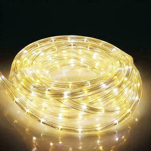 20M~25M LED ROPE LIGHT CHRISTMAS DECORATION XMAS WEDDING WINDOW STRIP FLASHING