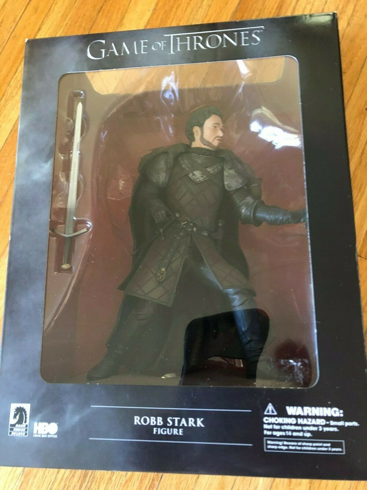 Dark Horse Deluxe Game of Thrones  ..ROBB STARK.. NEVER OPENED .. MINT BOX