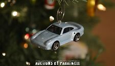 Porsche 959 Turbo 1/64 Scale Custom Christmas Ornament Adorno Blue 911
