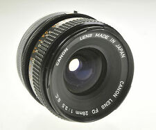 Canon Lens FD 28mm F3.5 S.C. Camera Lens