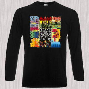A-Tribe-Called-Quest-Peoples-Album-Men-039-s-Long-Sleeve-Black-T-Shirt-Size-S-to-3XL