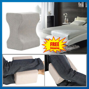 MEMORY-FOAM-ORTHOPAEDIC-LEG-PILLOW-BACK-HIPS-amp-KNEE-SUPPORT-CUSHION-WITH-COVER