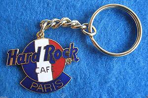 Paris-France-Francais-Tri-Couleur-Drapeau-Classique-Logo-Hrc-Porte-Cle-4LC