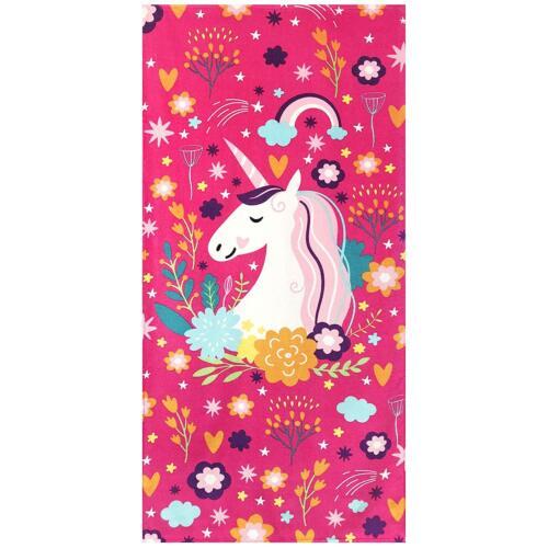 30x 60 Fancy Unicorn Beach Towel 100% Cottom