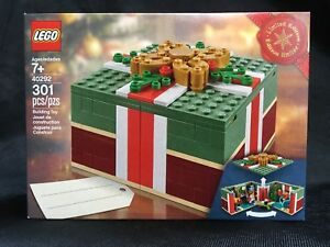 LEGO-CHRISTMAS-GIFT-SET-Building-Toy-40292-301-Pieces-BRAND-NEW-SEALED