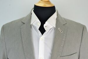 Jcrew-Blue-White-Striped-100-Cotton-Sport-Coat-Jacket-Sz-S