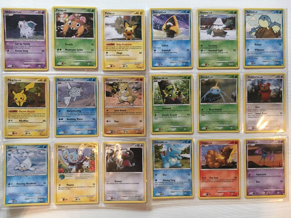 Samlekort, Sjældne Pokémon Kort - D&P: Mysterious