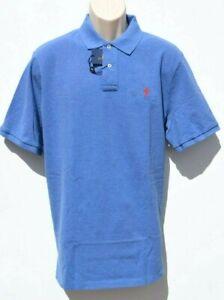 PréVenant Polo Ralph Lauren Chemise Homme Classic-fit Mesh à Manches Courtes 2xl Bleu Heather Neuf-afficher Le Titre D'origine