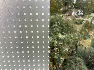 Design Fensterfolie Adhäsionsfolie Bad Küche Büro selbstklebend M128 Rakel
