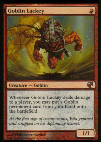 ExiledMagic MTG Goblin Lackey FOILNMFtV