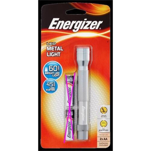2A, AA New Energizer LCM2AA Japan Nichia LED Flashlight Torch