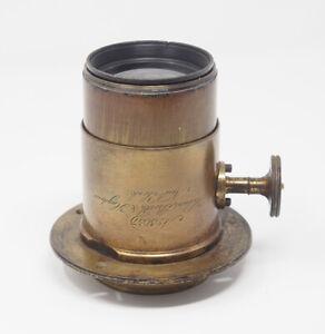 Holmes-Booth-amp-Haydens-Daguerrean-Petzval-Lens-5057-Made-1858-TESTED