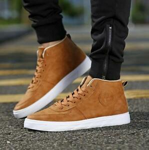 New-Fashion-Men-039-s-Casual-High-Top-Sport-Sneakers-Athletic-Running-Shoes-HOT