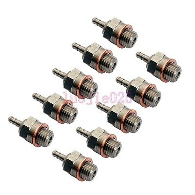 10PCS Spark Glow Plug # N4 No.4 HSP 70117 RC Car Truck Engines Nitro Parts