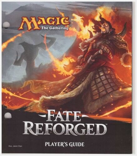 Magic the Gathering Fate Reforged Player/'s Guide MtG Wizards of the Coast WotC