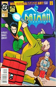 THE-BATMAN-ADVENTURES-14-NM-SCARFACE-THE-VENTRILOQUIST-DC-1993-1st-Print