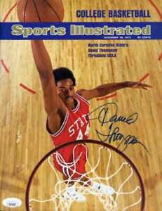 David-Thompson-JSA-Coa-Autograph-8x10-Cover-Photo-Hand-Signed