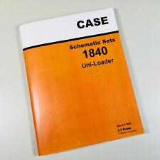 Case 1840 Uni Loader Skid Steer Shematics Service Manual
