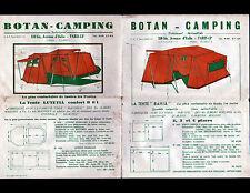 "PARIS (XIII°) MATERIEL DE CAMPING ""BOTAN CAMPING"" début 1960"