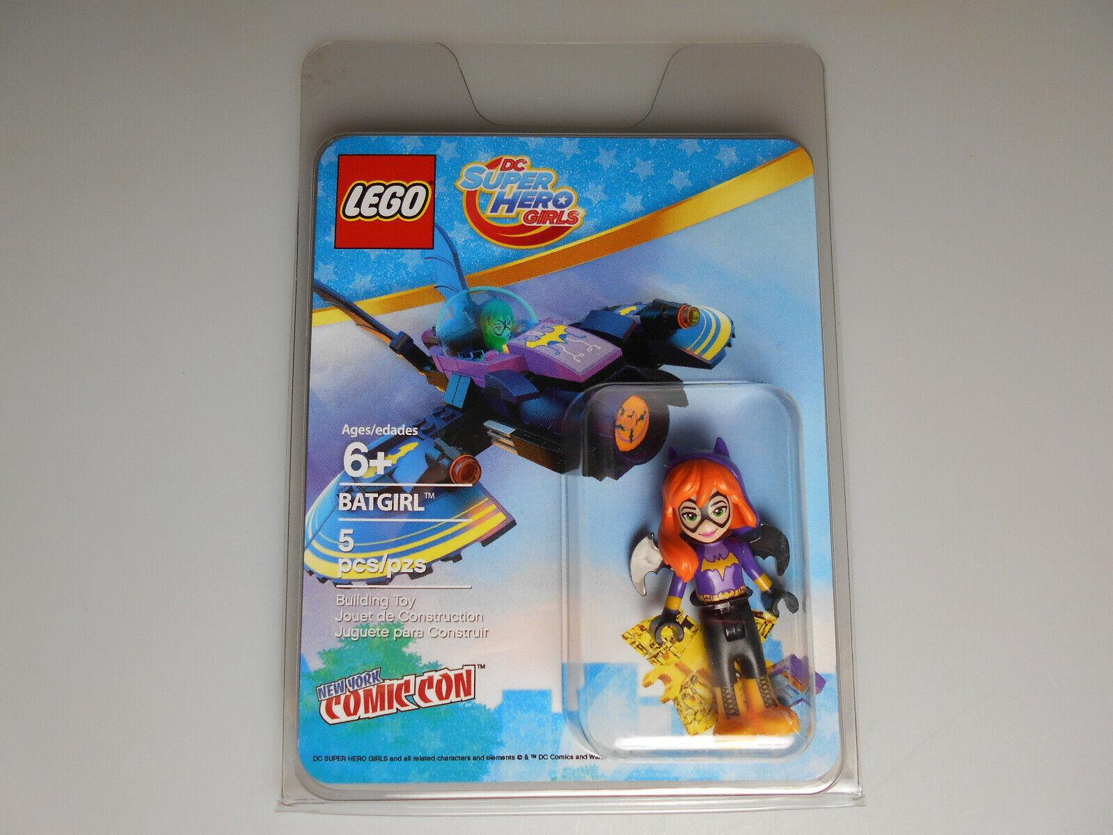 Lego® Super Heroes Girls Minifigur Batgirl Comic Con  Neu