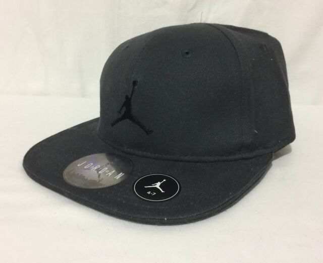 51077e9a50b Buy Youth Nike Jordan Jumpman 23 Snap Back Velcro Embroidered Cap Gray 4 7  online