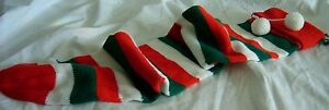 Christmas-Stocking-Red-Green-White-21in-long
